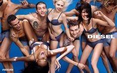 Canadian model Winnie Harlow (real name Chantelle Young-Brown) is the star of two major spring/summer 2015 fashion campaigns. A sufferer of the skin pigment disorder vitiligo, Winnie is changing. Diesel, Fashion Advertising, Advertising Campaign, Vitiligo Model, Chantelle Brown Young, Model Winnie Harlow, Charlotte Free, Diego Barrueco, Knight Models