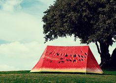 This is not a watermelon. Its an tent!