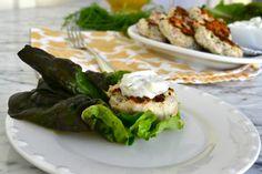 Greek Lettuce Wrapped Turkey Sliders 3