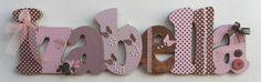 Izabella marrom e rosa porta maternidade | Válvula de Scrap | Elo7