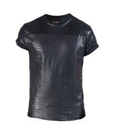 6fb4709bed WINCHESTER Short sleeve tee All-over tectured animal print Cotton base Crew  neck.
