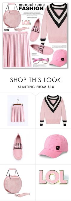 """""""LOVE YOINS"""" by nanawidia ❤ liked on Polyvore featuring Gucci, Puma, Valley Cruise Press and ZeroUV"""