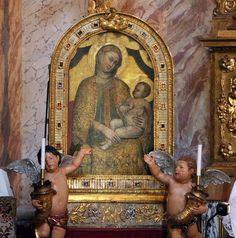 Simone dei crocifissi, madonna della vittoria, 1356-70