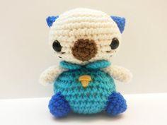 Crochet Oshawott Inspired Chibi Pokemon by MissJennysCrochet