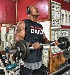 The Rock Biceps Exercise: The Reverse Curl