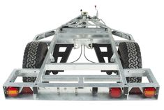 Chaser Adventure Trailer Chassis Rear View