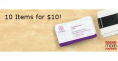 Staples $10 Deals- B