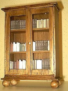 how to: mini bookcase
