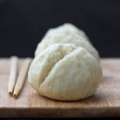 These Steamed Coconut Buns from Jamie Oliver only need two ingredients, are super easy and made in minutes!