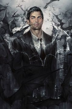 Bruce Wayne by jasric on DeviantArt