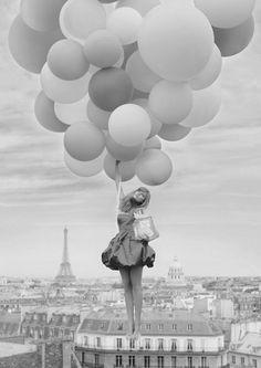 Balloon Ride in Paris. S)