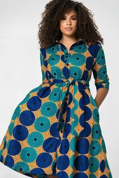 African Print Yakira Midi Dress-African Print Yakira Midi Dress Shop Grass-fields African Print Fashion – African Print Yakira Midi Dress to look effortlessly cool. It's bold and beautiful, perfect for any social occasion! Latest African Fashion Dresses, African Dresses For Women, African Print Dresses, African Attire, African Prints, Ankara Fashion, African Fabric, African Women, African Print Shirt