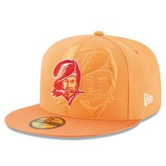 Tampa Bay Buccaneers New Era 2016 Sideline Classic Fitted Hat - Orange Tampa Bay Buccaneers Hat, Buccaneers Football, Coach Hats, Football Pictures, Fan Gear, Champs, Snapback, Nfl