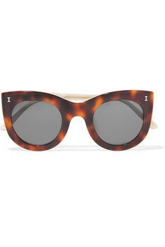 Illesteva | Boca cat-eye acetate sunglasses | NET-A-PORTER.COM