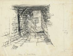 Original Pen and Ink Drawing for Ingoldsby Legends, Arthur Rackham