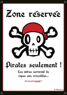 """Pirates solely"" poster to print Deco Pirate, Pirate Theme, Decoration Pirate, Pirate Halloween, Halloween Party, Pirate Birthday, 30th Birthday, Poster S, Happy B Day"