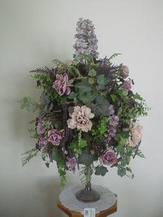 96 best christmas silk flower arrangements images on pinterest floral christmas arrangement with ornaments silk flower arrangements and centerpieces sugar creek home decor mightylinksfo