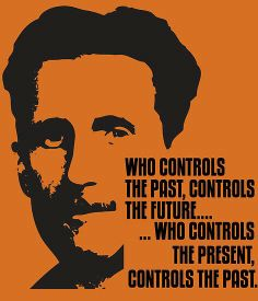 This quote demonstrates one way in which the Party manipulates society. By controlling the past through the fabrication of history, the Party gains control over society and is able to also control the present.