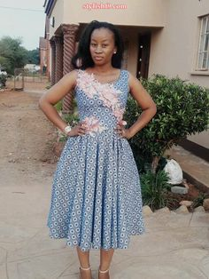 Fashion trends in south africa 2020 ⋆ South African Traditional Clothing, Traditional Outfits, Traditional Wedding, Long African Dresses, African Fashion Dresses, I Dress, Dress Outfits, Shweshwe Dresses, African Attire