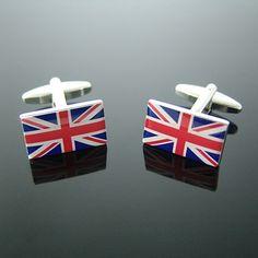 イギリス 国旗カフス カフスボタン - カフス カフスボタン 専門店-Cuff.jp