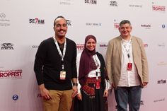 TROPFEST Arabia 2012 Finalists Mohamed Hussen Anwar, Shaimaa Farouk & Ali Salloum