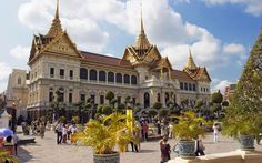 #11 #TheGrandPalace No visitor should miss this huge complex, which encompasses the country's holiest and most beautiful temple, Wat Phra Kaeo.