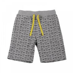 monsters-fleece-bermuda-shorts-grey