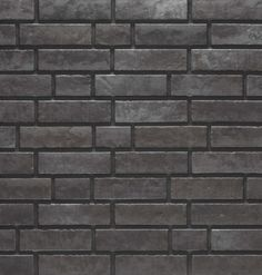 Neglazovaný fasádní obklad ZEITLOS 359/7470 Kohleganz Tiles, Charcoal, Room Tiles, Tile, Backsplash