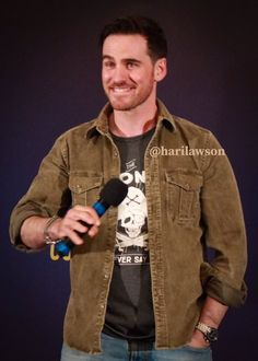 """""""Enchanted 2 opening ceremony with and Killian Jones, Colin O'donoghue, Captain Hook, Prince Charming, Ouat, Shit Happens, Sexy, Once Upon A Time"""