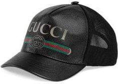 7a66831ec20 Gucci - Logo Print Baseball Hat. Gucci HatGucci GucciLeather ...