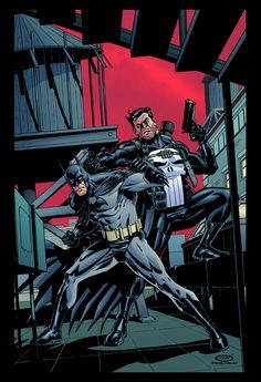Batman & Punisher - Scott Cohn