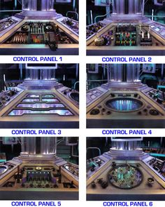 DW - 2012 Tardis Console [with correct info] by DoctorWhoOne.deviantart.com on @deviantART