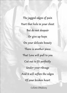The jagged edges of pain