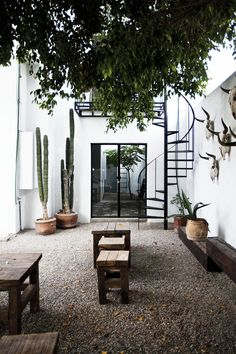 Perfect small courtyard!