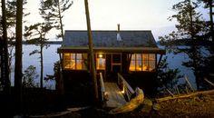 weekend cabin.