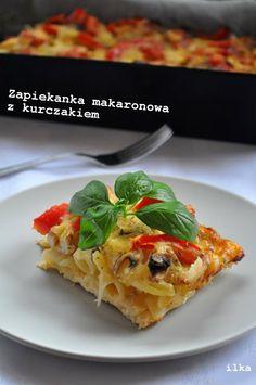 In my coffee kitchen: Zapiekanka makaronowa z kurczakiem