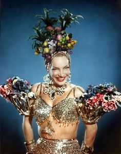 Carmen Miranda Portugese Actress And Singer Poular In A Series Of Stock Photo, Royalty Free Image: 3439388 - Alamy Carmen Miranda Kostüm, Classic Hollywood, Old Hollywood, Hollywood Jewelry, Camping Aesthetic, Fantasias Halloween, Hooray For Hollywood, Beautiful Costumes, Aesthetic Girl