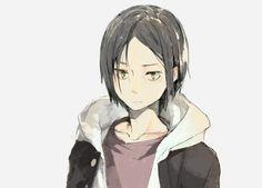 black hair Kozume Kenma