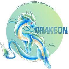 Draceon - Dragon Eeveelution [closed] by on DeviantArt Brock Pokemon, Pokemon Rare, Pokemon Mix, 150 Pokemon, Pokemon Fusion Art, Pokemon Comics, Pokemon Memes, Pokemon Fan Art, Cool Pokemon