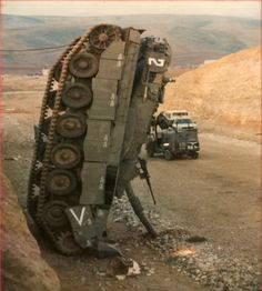 Merkava tank - Destroyed