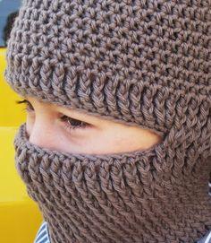 The Feisty Hooker: Crocheted Helmet Liner