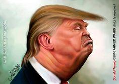 Caricatura de Donald Trump   caricaturasmx.com