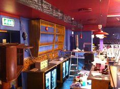 Retro bar shelf at Dattera til Hagen #60´s #bar #wood