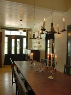 Rustic Plank Dining Table Design, Pictures, Remodel, Decor and Ideas - page 2