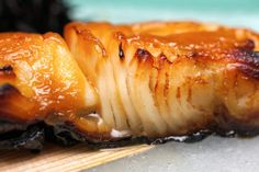 Sweet, savory and totally delicious! I love Black Cod!