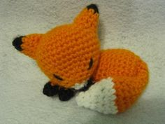 Free English Crochet Patterns Amigurumi | Amigurumi Fox by nerdyknitterdesigns | Crocheting Pattern