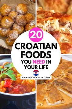 Croatian Cuisine, Croatian Recipes, Traditional Croatian Food, Good Food, Yummy Food, Different Vegetables, Ethnic Food, Delicious Dishes, World Recipes