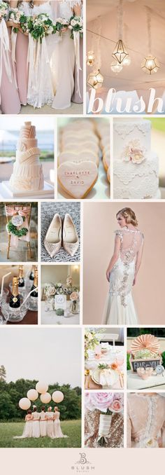 Blush wedding theme