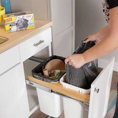Control clutter in your kitchen with these effective ideas. Here are 30 solutions to help you store more stuff -- from food to cookware to small appliances -- and find it more easily.