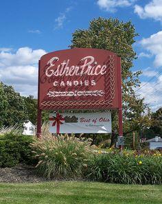 Esther Price Candies...Cincinnati, Ohio